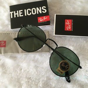 Ray-Ban RB3447 Round Metal Unisex Sunglasses